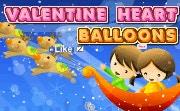 Valentine Heart Balloons